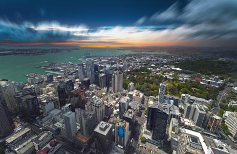 奥克兰,新西兰,城市