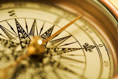 金色,箭头,时钟