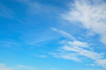 无限,云彩,蓝天