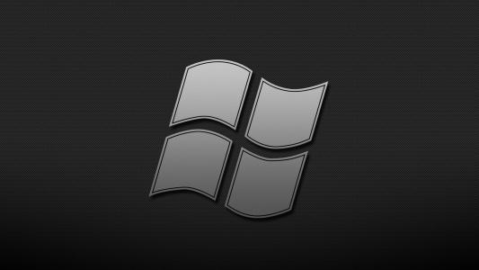 Windows,窗口,背景,主题,黑色