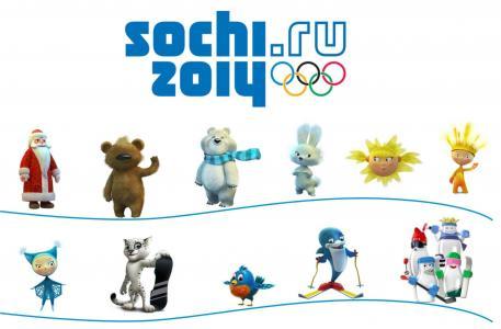 奥运,符号,护身符,索契