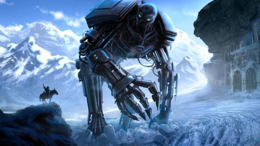 机器人,怪物,壁纸