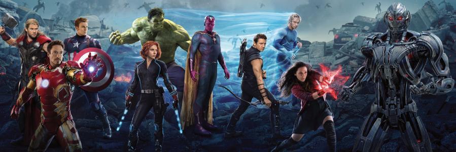 复仇者联盟:奥创时代,复仇者联盟,黑寡妇,钢铁侠,美国队长,雷神,绿巨人,鹰眼,战争机器,猩红女巫,水银,视觉,Мстители:ЭраАльтрона,Мстители