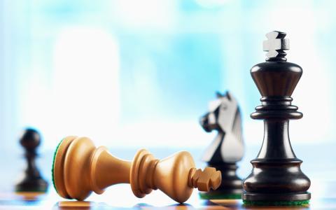 象棋,棋子,主教,国王,死亡,шахматы