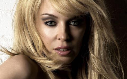 凯莉米洛,歌手,音乐家,金发女郎,肖像,凯莉米洛