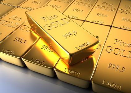 黄金,金属,酒吧,样本