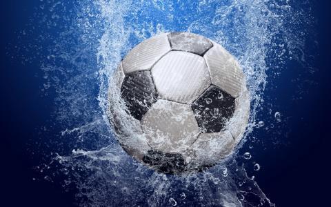 足球,喷雾