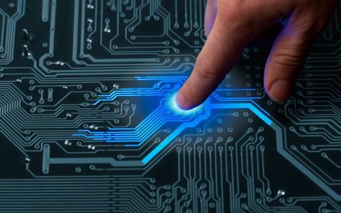 高科技,技术,板,手,手指