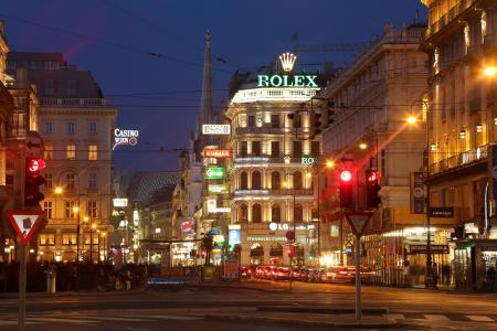 维也纳,奥地利,维也纳,维也纳,krntnerstraЏe,奥地利