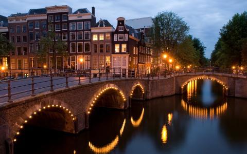 角,阿姆斯特丹,壁纸