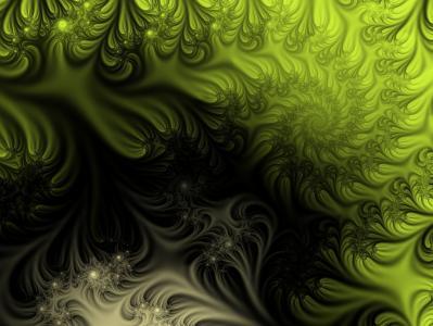 抽象,幻想,模式,黑色,绿色