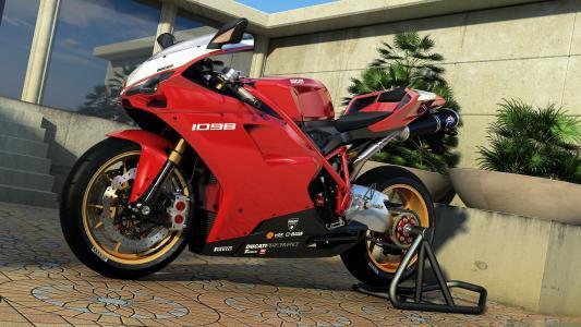 1098,图形,危险,摩托车,杜卡迪,艺术