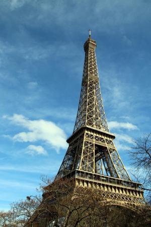 浪漫迷人的埃菲尔铁塔