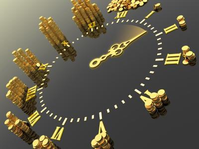 拨号,箭头,硬币,时钟