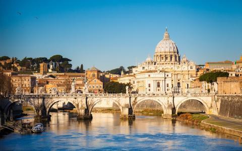查看,罗马,壁纸