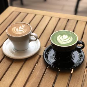 美味可口的下午茶咖啡