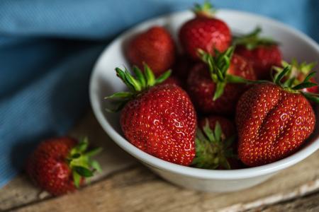 酸甜可口的草莓
