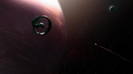 星球,星星,船,空间