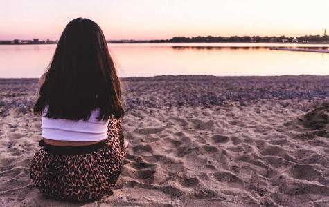 孤单寂寞的背影