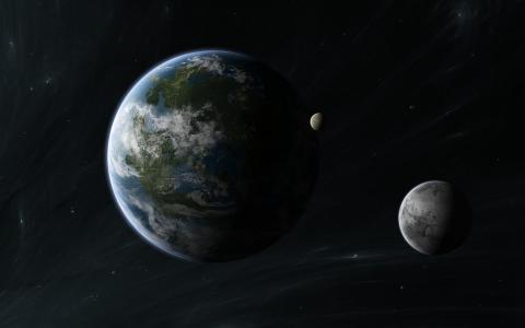 行星,星星