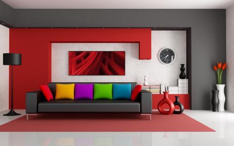 房间,家具,思想,壁纸