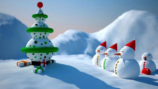 圣诞节,壁纸