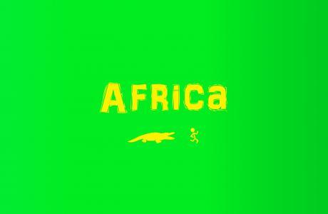 非洲,男人,极简主义,鳄鱼