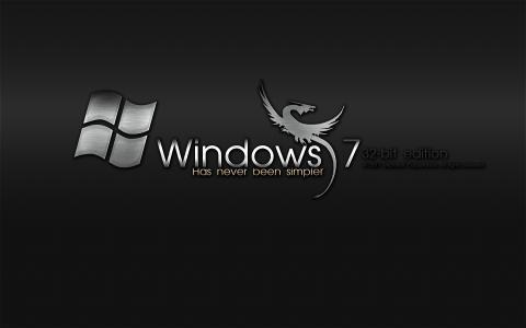 Windows 7,金属,Windows 7,操作系统,操作系统