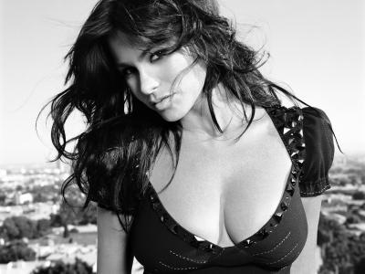 索菲亚vergara,肖像,女演员,黑发,模型,乳房,索非亚vergara,女孩,ch.b.