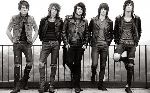 摇滚乐队,黑与白,问亚历山大,音乐