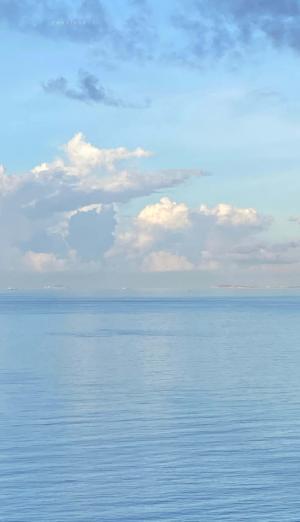 优美迷人的海景