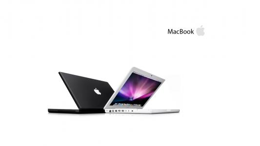 的MacBook,壁纸