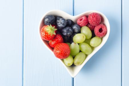 食物,浆果,草莓,蓝莓