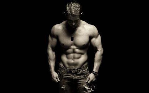 家伙,肌肉,肌肉,躯干,新闻,ch.b.