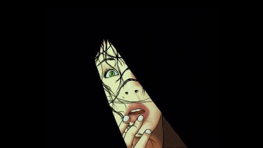 裂缝,恐怖,恐惧,惊吓