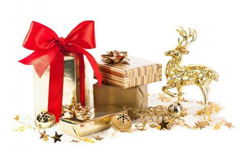 礼物,因为,圣诞,壁纸