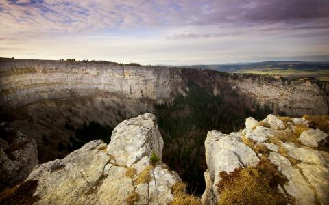 山,自然,景观