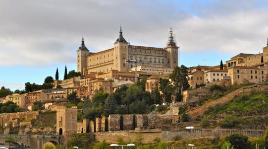 阿尔卡萨,托莱多,西班牙,托莱多阿尔卡萨,托莱多,西班牙,堡垒