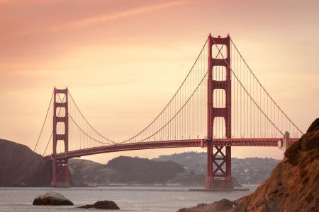 雄伟壮观的金门大桥