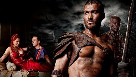 斯巴达克斯,系列,斯巴达克,沙子和血,角斗士,战士