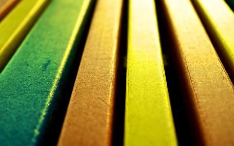 板,不同的颜色