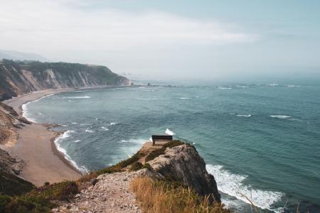 海岸边唯美风景