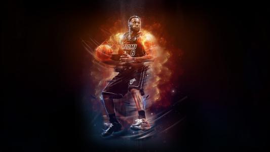 詹姆斯,NBA,壁纸