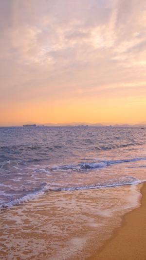海上朝霞迷人风光