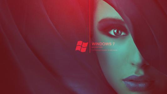 窗户,女孩,七,女人7