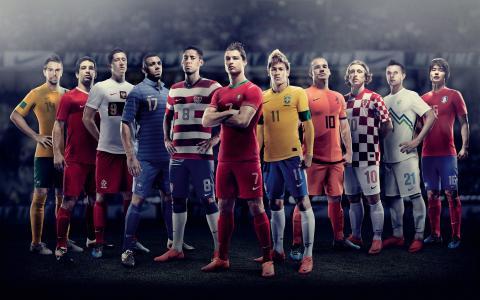 杯,2010年,足球,团队,壁纸