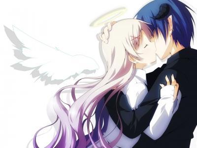 艺术,天使,女孩,yuzuki kei,家伙