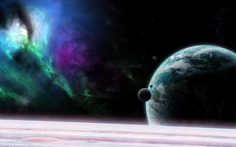来自宇宙,壁纸