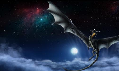 翅膀,幻想,龙,尾巴
