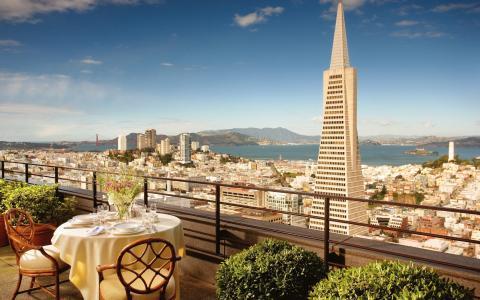 旧金山市,景观,壁纸